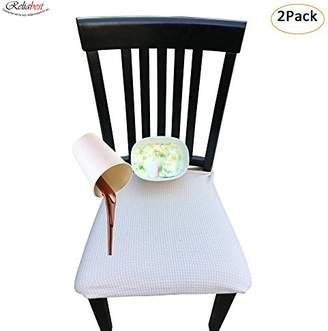 Waterproof Dining Chair Cover Protector - Pack of 2 - Perfect For Pets