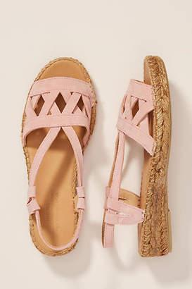 Naguisa Poal Criss-Cross Sandals