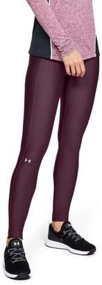 Under Armour Women's HeatGear Armour Branded Waistband Leggings