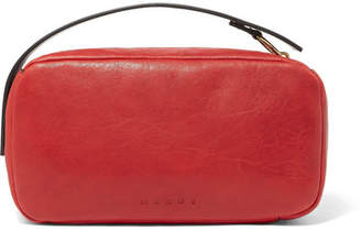 Marni Leather Clutch - Red
