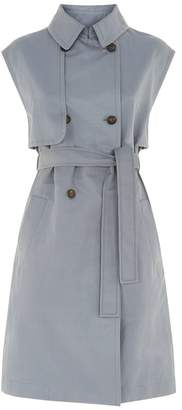 Brunello Cucinelli Belted Sleeveless Trench Gilet