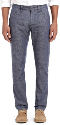 34 Heritage Courage Straight Leg Linen Blend Jeans