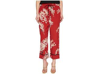 McQ Piping Pintuck Track Pants Women's Casual Pants