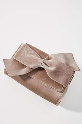 Anthropologie Belle Velvet Envelope Clutch