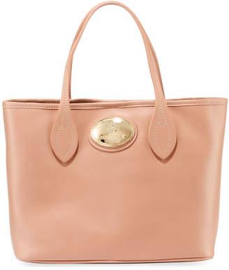 Roberto Cavalli Calf Leather Tote Bag