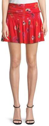 Camilla And Marc Mona Floral Mini Skirt