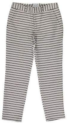 Steven Alan Abstract Pattern Mid-Rise Pants