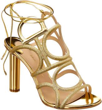 Salvatore Ferragamo Vinci Leather Sandal