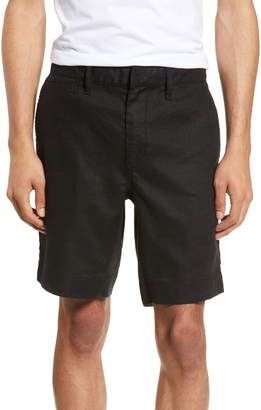 John Varvatos Johnny Flat Front Shorts