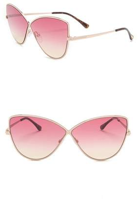 d893d096f28 Tom Ford Rose Gold Sunglasses - ShopStyle