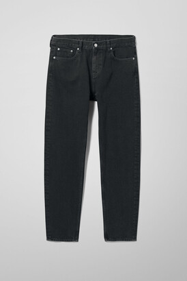 Weekday Bobbin Cropped Tuned Black Jeans - Black