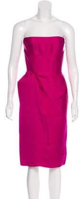 Martin Grant Strapless Evening Dress