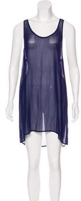 Etoile Isabel Marant Scoop Neck Mini Dress