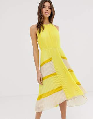 Ted Baker Nellina pleated midi dress