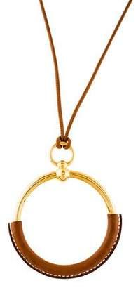 Hermes Loop Grand Pendant Necklace