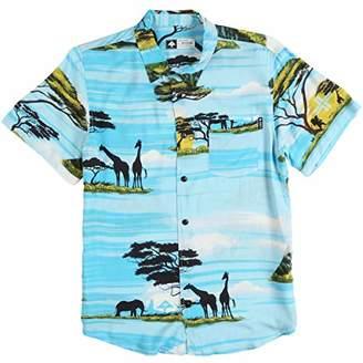 Lrg Men's Sunsetter Short Sleeve Woven Shirt