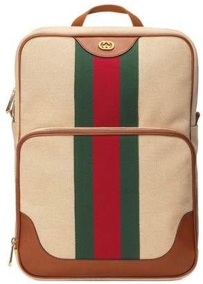 Gucci Vintage canvas backpack