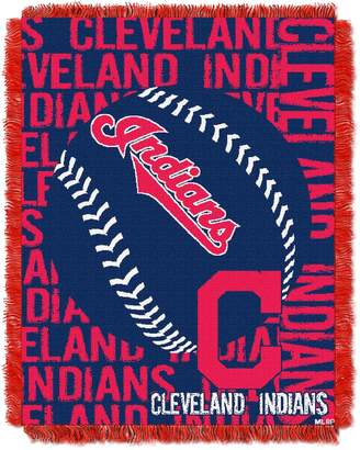 Cleveland Indians Jacquard Throw by Northwest