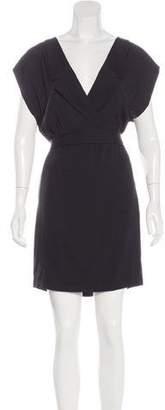 Stella McCartney Silk Cutout-Accented Dress