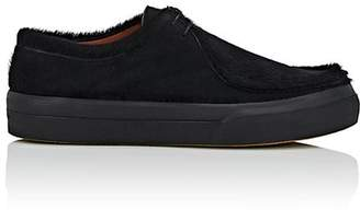 Dries Van Noten Men's Calf Hair Moccasin Sneakers