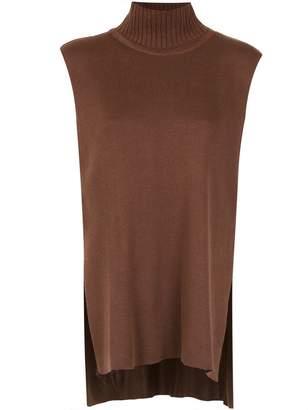 Gloria Coelho sleeveless knit blouse