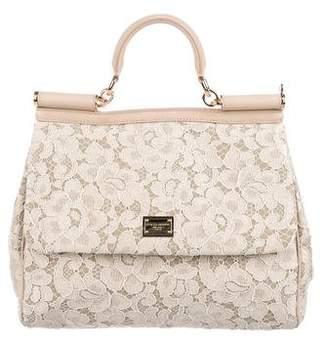 Dolce & Gabbana Guipure Lace Miss Sicily Bag