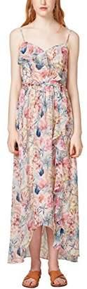 Esprit Women's 058eo1e013 Dress, (White 1), (Size: 38)