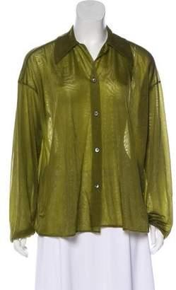 Helmut Lang Vintage Long Sleeve Top