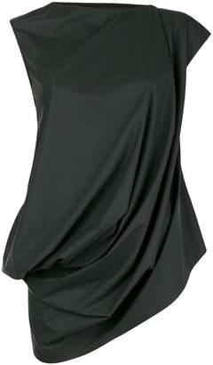Rick Owens Lilies draped cap sleeve top