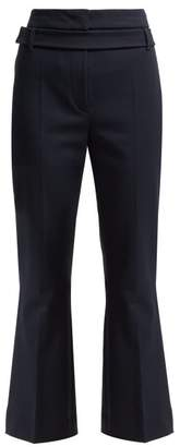 Sportmax Rosetta Trousers - Womens - Dark Blue