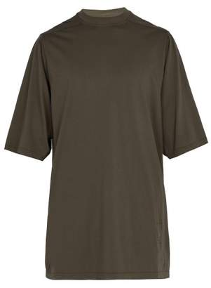 Rick Owens Oversized Cotton T Shirt - Mens - Dark Brown