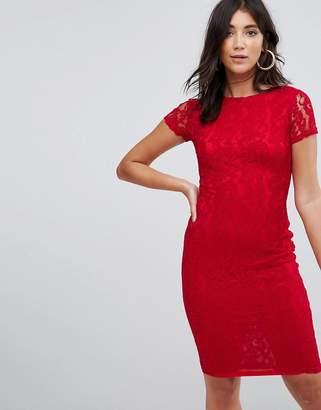 AX Paris Crochet Lace Midi Dress