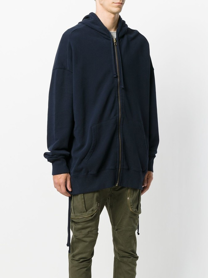 Faith Connexion oversized side lace hoodie
