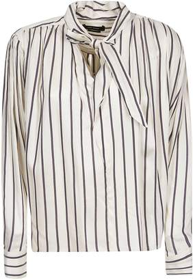 2311362c3d2 Black And White Striped Blouse - ShopStyle UK