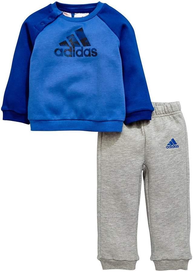 Baby Boy Crew Neck Fleece Jog Suit