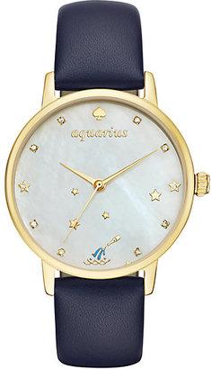 Aquarius zodiac metro watch $195 thestylecure.com
