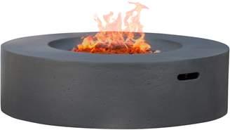 Nfusion Outdoor Aidan Circular Outdoor Gas Fire Pit Set (2 PC)