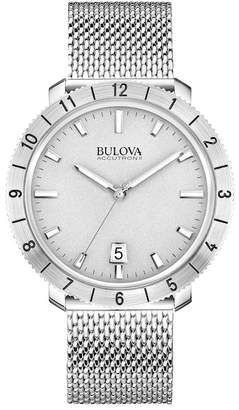 Bulova Men's Moonview Mesh Bracelet Watch, 42mm