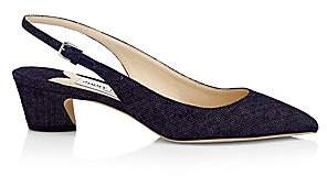 Jimmy Choo Women's Gemma Denim Slingbacks
