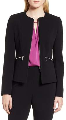 BOSS Jazulara Twill Jersey Suit Jacket