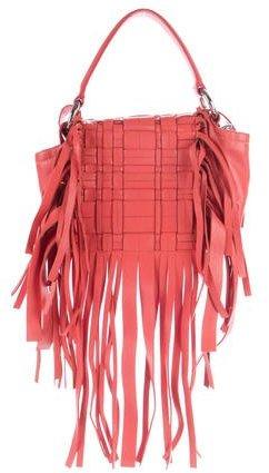pradaPrada Nappa Weave Flap Bag