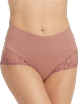Spanx Undie-Tectable Lace High-Waist Hipster Briefs