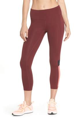 Zella Vertigo Crop Leggings
