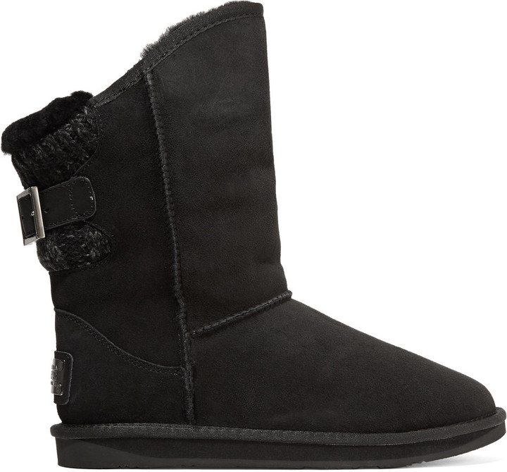 Australia Luxe CollectiveAustralia Luxe Collective Spartan ribbed-trimmed shearling boots