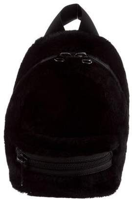 Alexander Wang Shearling Primary Backpack