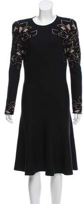 Alexander McQueen Structured Jacquard Dress w/ Tags