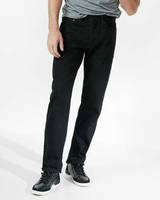 Express Relaxed Black 100% Cotton Jeans