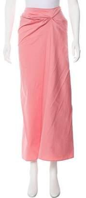 Genny Gathered Midi Skirt