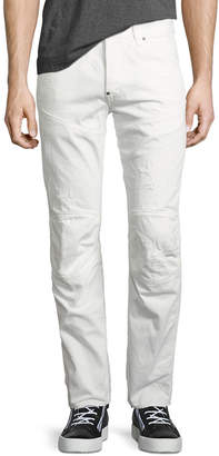 G Star 5620 Elwood 3D Tapered & Distressed Jeans, Light Aged Restored 130