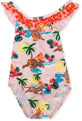 Kenzo tiger print swimsuit